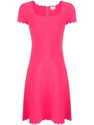 Milly Scallop Neck Dress 60