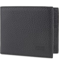 Armani Collezioni Dappled Leather Wallet Black
