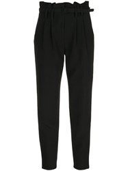 Milly Belted Trousers Black
