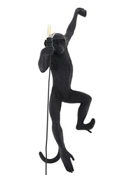 Seletti Monkey Hanging Outdoor Lamp Black
