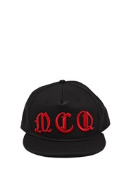 Mcq By Alexander Mcqueen Logo Embroidered Canvas Baseball Cap