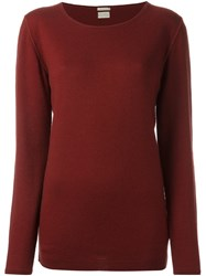 Massimo Alba 'Rachel' Jumper Red