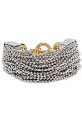 Alexander Wang Silver And Gold Tone Bracelet Silver