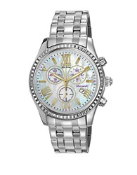 Citizen Ladies Drive Aml Chronograph Watch Silver