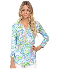 Lilly Pulitzer Kirby Top Multi Women's Clothing