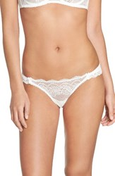 Mimi Holliday Women's Picture Perfect Thong White