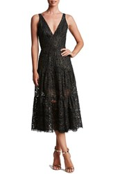 Dress The Population Women's Madelyn Lace Midi