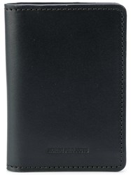 Norse Projects Bi Fold Card Wallet Leather Black