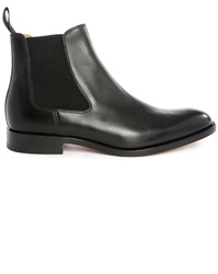 Loake Petworth Black Leather Chelsea Boots
