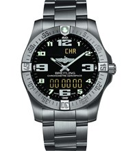 Breitling Professional Stainless Steel Watch