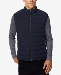 32 Degrees Men's Packable Down Vest True Navy