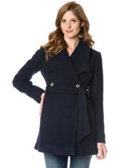 A Pea In The Pod Maternity Double Breasted Belted Coat