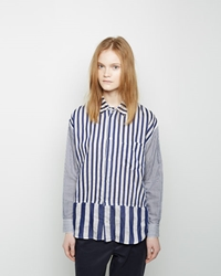 Zucca Multi Stripe Button Up Shirt
