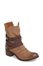 Sbicca Women's Endora Slouchy Bootie Taupe Leather