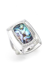 Judith Jack Women's Abalone Dome Ring