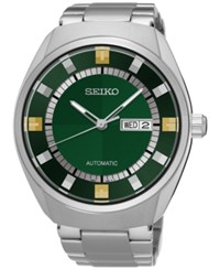 Seiko Men's Automatic Recraft Series Stainless Steel Bracelet Watch 44Mm Snkn77 No Color