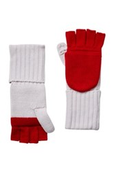 Hunter Foldover Wool Mittens Red