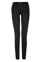 Juicy Couture Super Soft Skinny Jeans In Black