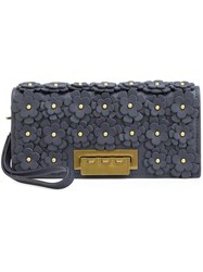 Zac Posen 'Earthette' Clutch Blue