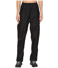 Marmot Precip Full Zip Pant Black Women's Clothing