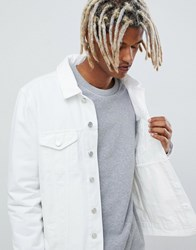 Brooklyn Supply Co. Co Denim Jacket In White