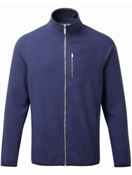 Craghoppers Men's Liston Lightweight Fleece Jacket Midnight Blue