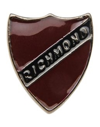 John Richmond Brooches Maroon