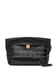 Burberry Embossed Crocodile Effect Society Clutch 60