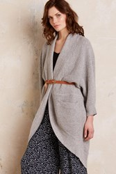 Twinkle Wenlan Arissa Slouchy Cardi Light Grey