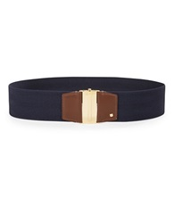 Lauren Ralph Lauren Stretch Belt Navy Blue