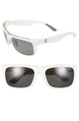 Women's Zeal Optics 'Essential' Polarized Plant Based Sunglasses White