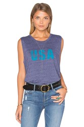 Nation Ltd. Usa Tank Blue