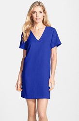 Women's Felicity And Coco Crepe Shift Dress Cobalt