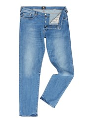 Paul Smith Men's Ps By Tapered Super Stretch Jean Denim Light Wash