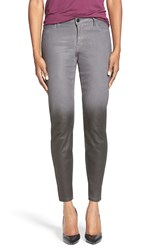 Cj By Cookie Johnson 'Wisdom' Ombre Coated Snakeskin Print Stretch Skinny Jeans Carr