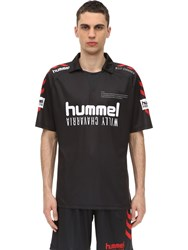 Hummel Willy Chavarria Simonsen Jersey T Shirt Black