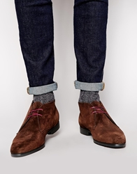 Ps By Paul Smith Wilkinson Short Boots Brown
