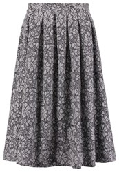 Mintandberry Pleated Skirt Grey