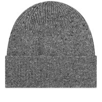 Mhl By Margaret Howell Mhl. Ribbed Beanie Grey
