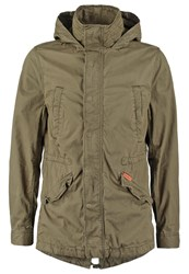 Superdry Rookie Parka Deepest Army Oliv