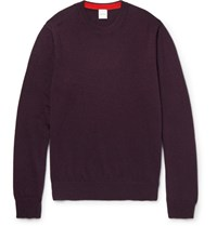 Paul Smith Slim Fit Cashmere Sweater Purple