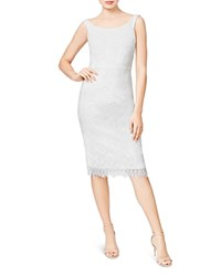 Betsey Johnson Lace Sheath Dress Ivory