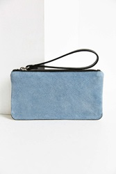 Urban Outfitters Simple Suede Contrast Wristlet Black