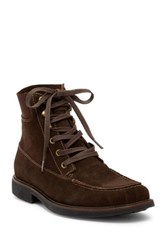Tommy Bahama Lionelle Mid Apron Toe Boot Brown