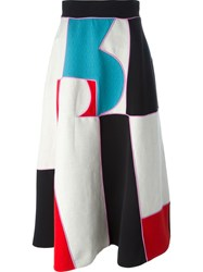 Roksanda Ilincic Roksanda Colour Block Maxi Skirt Multicolour