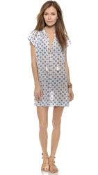 Madewell Lanai Cover Up Tunic Pearl Ivory