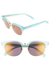 Wildfox Couture Women's Clubhouse 50Mm Semi Rimless Sunglasses Blue Tears
