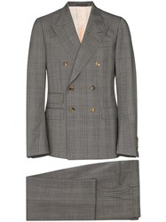 Gucci Checked Wool Dinner Suit 60