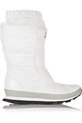 Adidas By Stella Mccartney Kattegat Quilted Shell Boots White