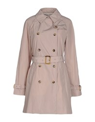Calvin Klein Jeans Coats And Jackets Full Length Jackets Women Beige